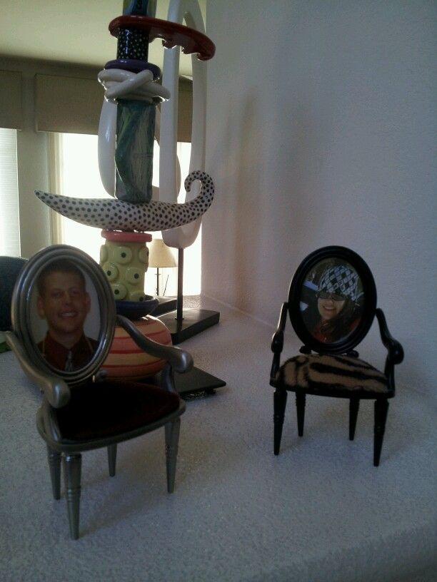 Photo mini chairs!