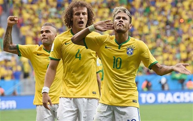 Brazil v Cameroon: Neymar bags a brace as hosts top Group A with 4-1 win and set up last 16 clash against Chile