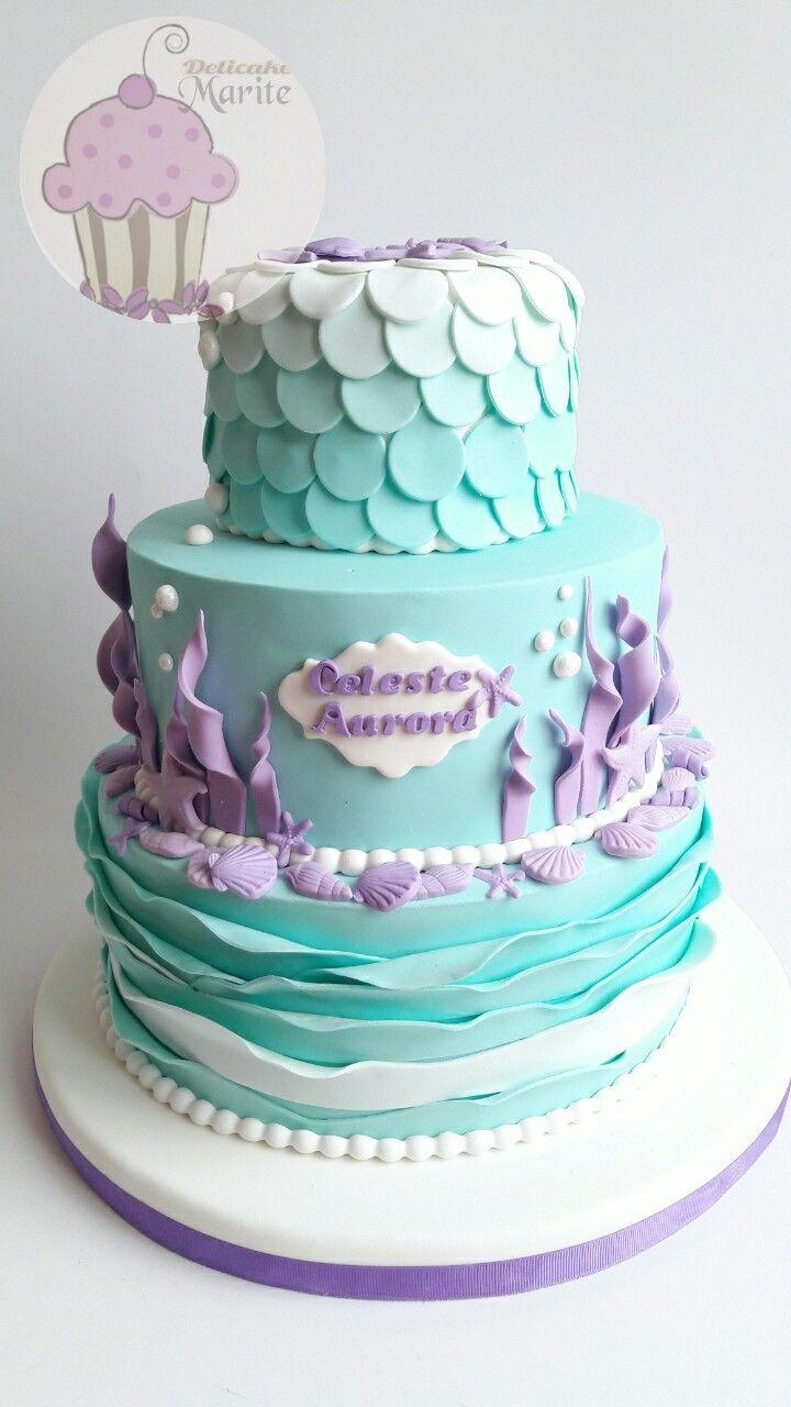 Torta De La Sirenita Tortas En 2019 Cumplea 241 Os De