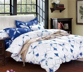 Room · Sapphire Peace Twin XL Comforter Twin XL Bedding Dorm Essentials