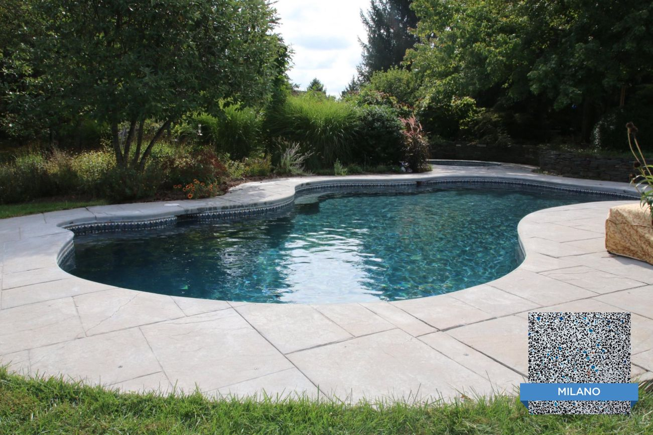 Check out the latest pool finished with our Hydrazzo ...