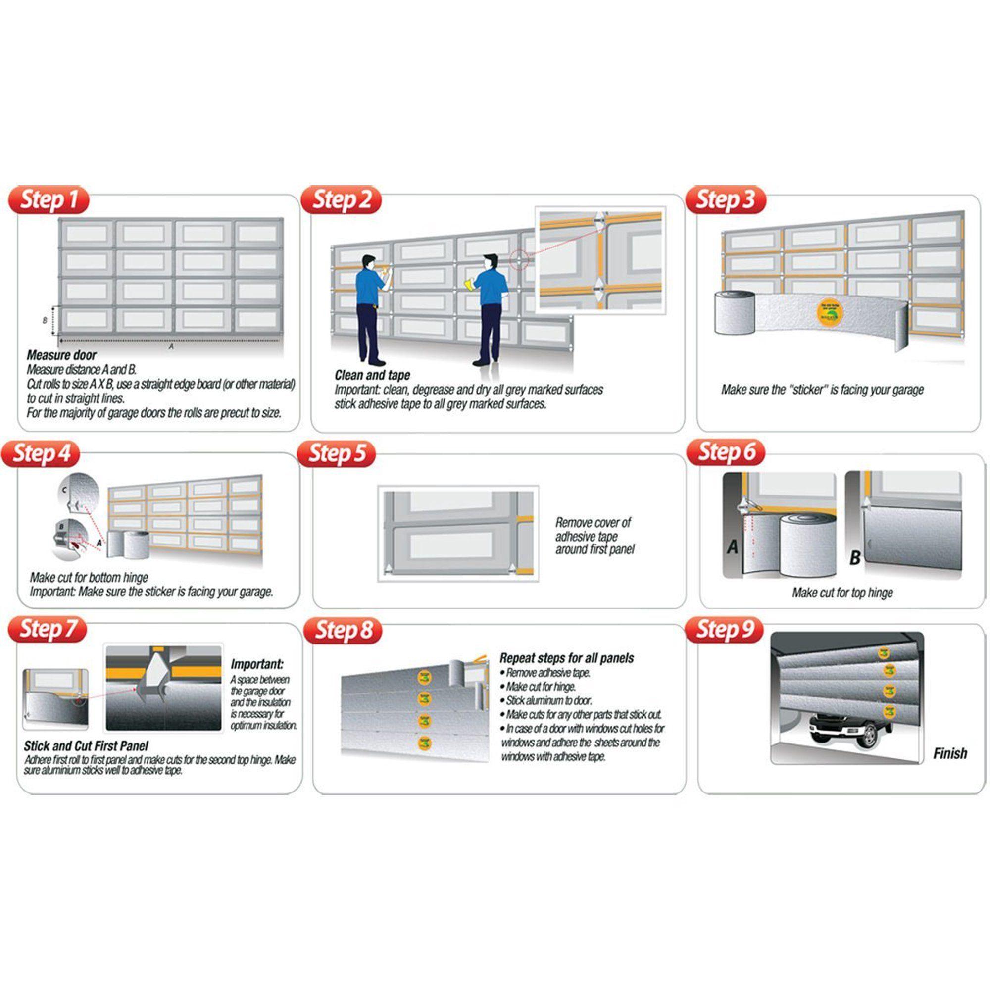 Pin On Garage Door Insulation