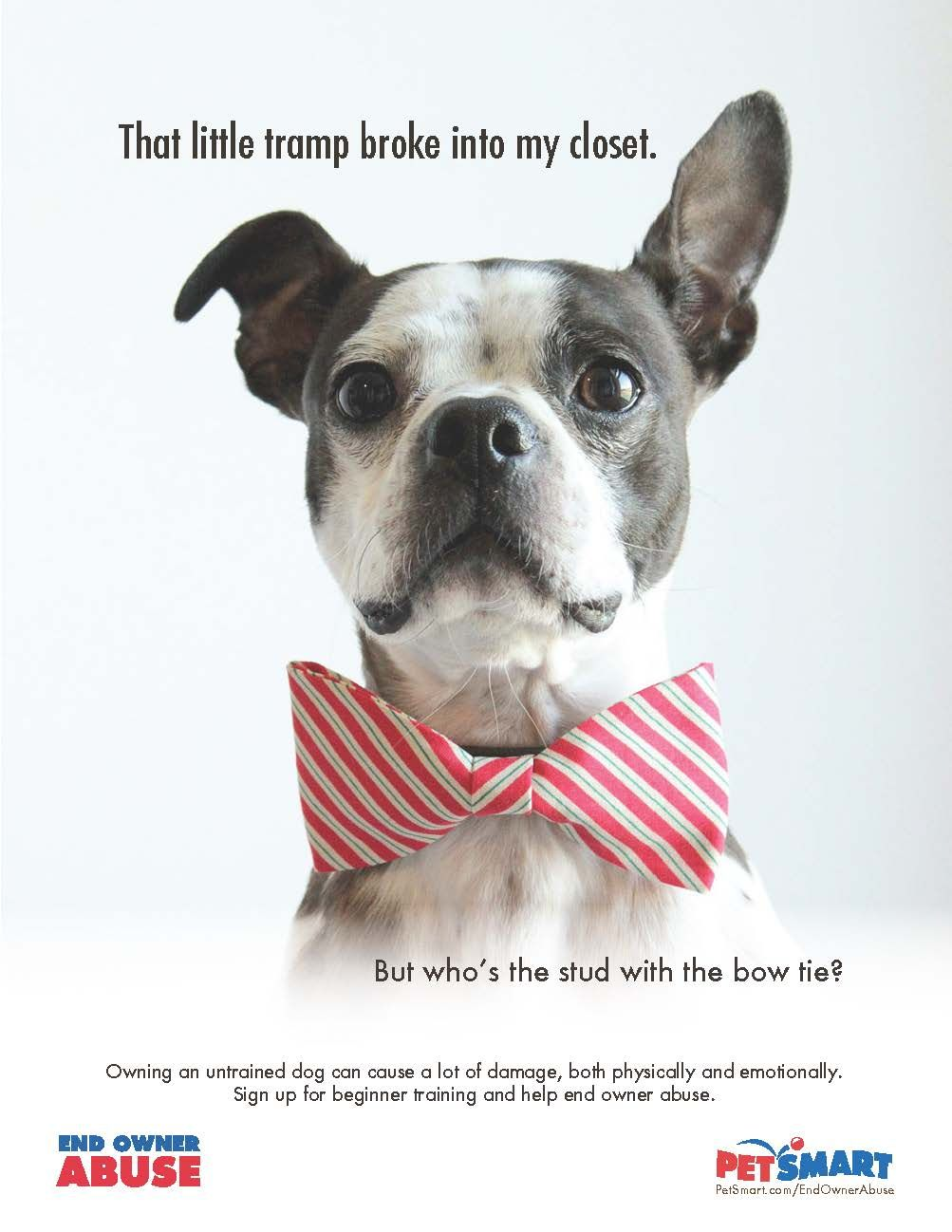 PetSmart - End Owner Abuse. Copywriter: Christian Belanger, Art ...