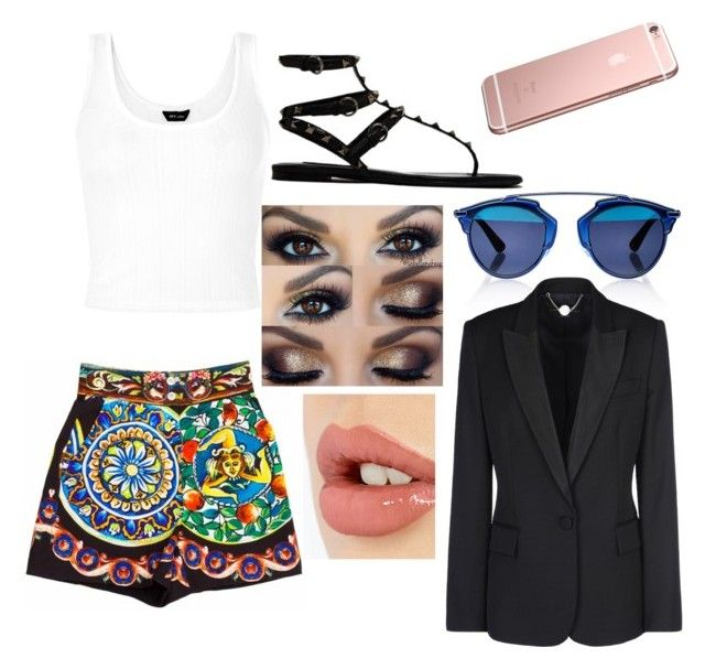 """""""Untitled #231"""" by jade-sacrispeyre ❤ liked on Polyvore featuring Dolce&Gabbana, Valentino, Christian Dior, STELLA McCARTNEY and Charlotte Tilbury"""
