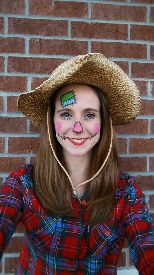 Scarecrow Halloween Costume. Super easy to do and work appropriate ...