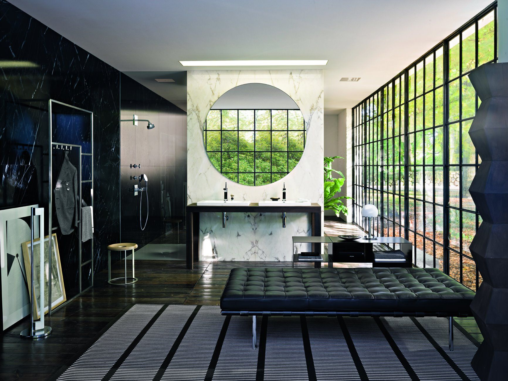 Axor Citterio - The designer Antonio Citterio combines home décor and bathrooms, making them a place to relax. Read more: http://www.hansgrohe-int.com/809.htm