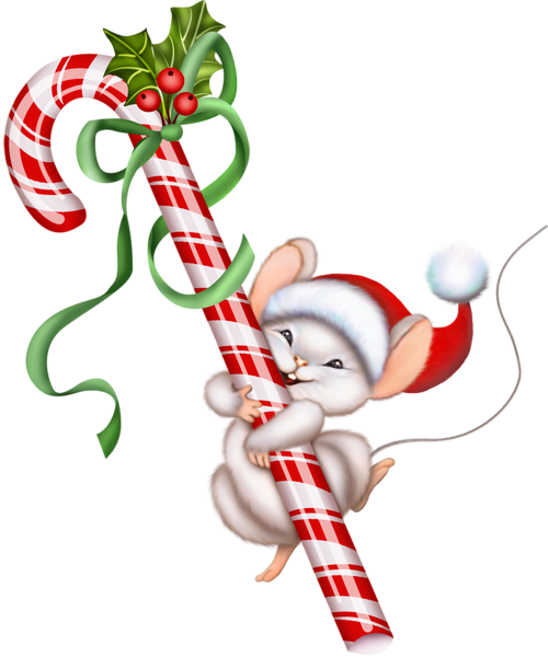 christmas mouse clip art gallery free clipart picture christmas rh pinterest ca