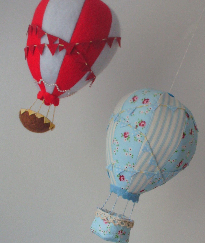 Hot air balloon, mobile nursery mobile Balloon mobile