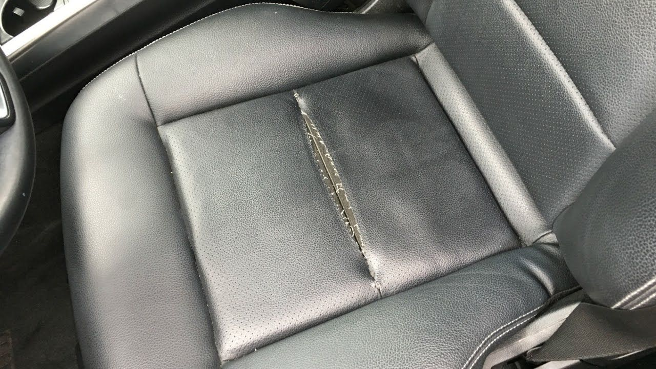 Fix Leather Car Seats Clearance, How To Fix Tear In Leather Seat