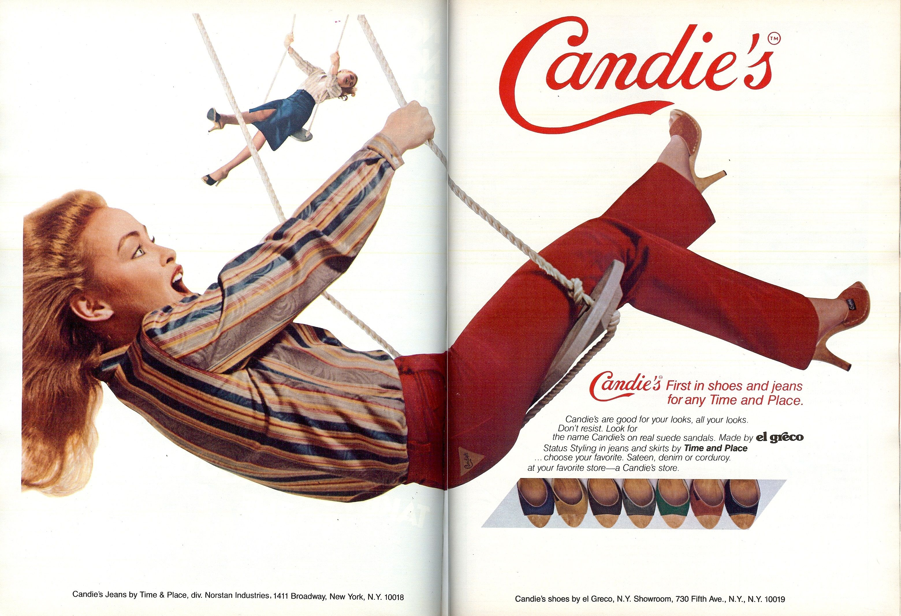 Candies Shoes (1979) | 1970s Print Advertising