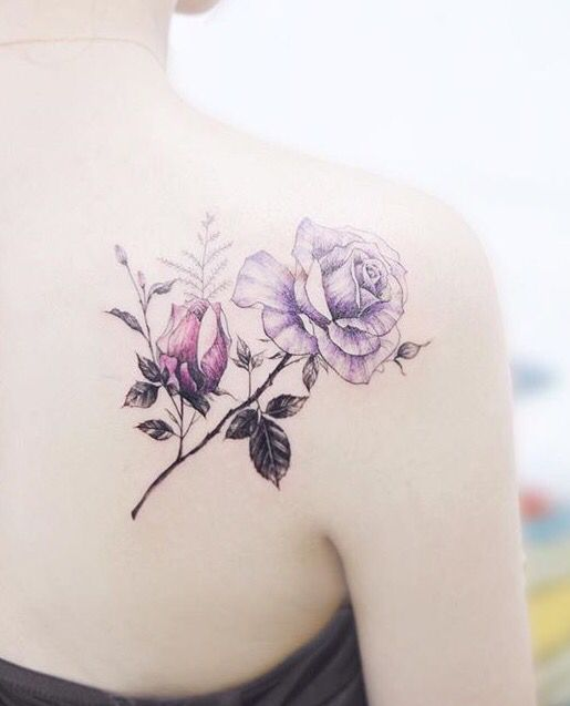 Tattooist Banul rose tattoo