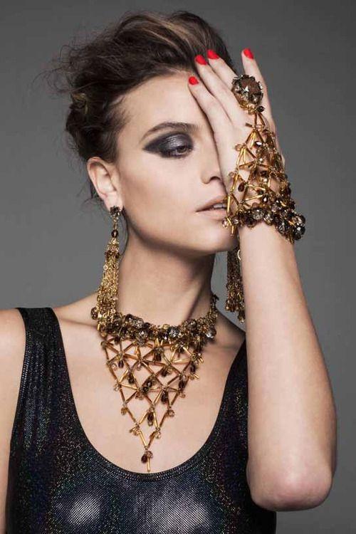 Model: Lais Oliveira, photos by Costa Tavinho,the summer campaign of 2013