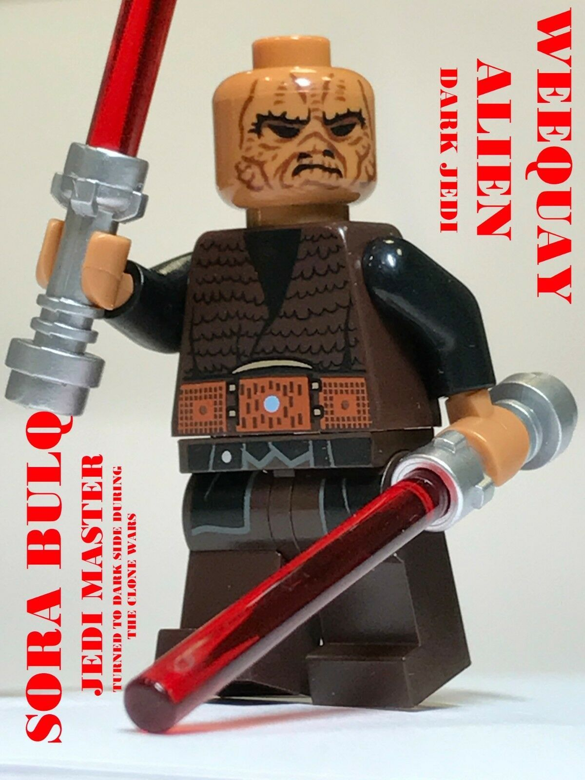 LEGO STAR WARS JEDI CUSTOM JEDI KNIGHT GEONOSIS ARENA ARMYBUILDER 100/% LEGO NEW