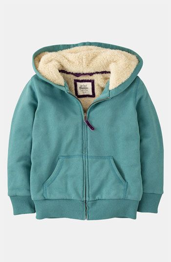 Mini Boden 'Shaggy' Hoodie (Toddler, Little Girls & Big Girls) available at #Nordstrom
