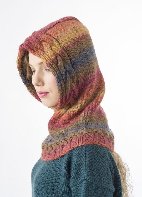 Palmikkoneulehuppu Novita Joki | Novita knits