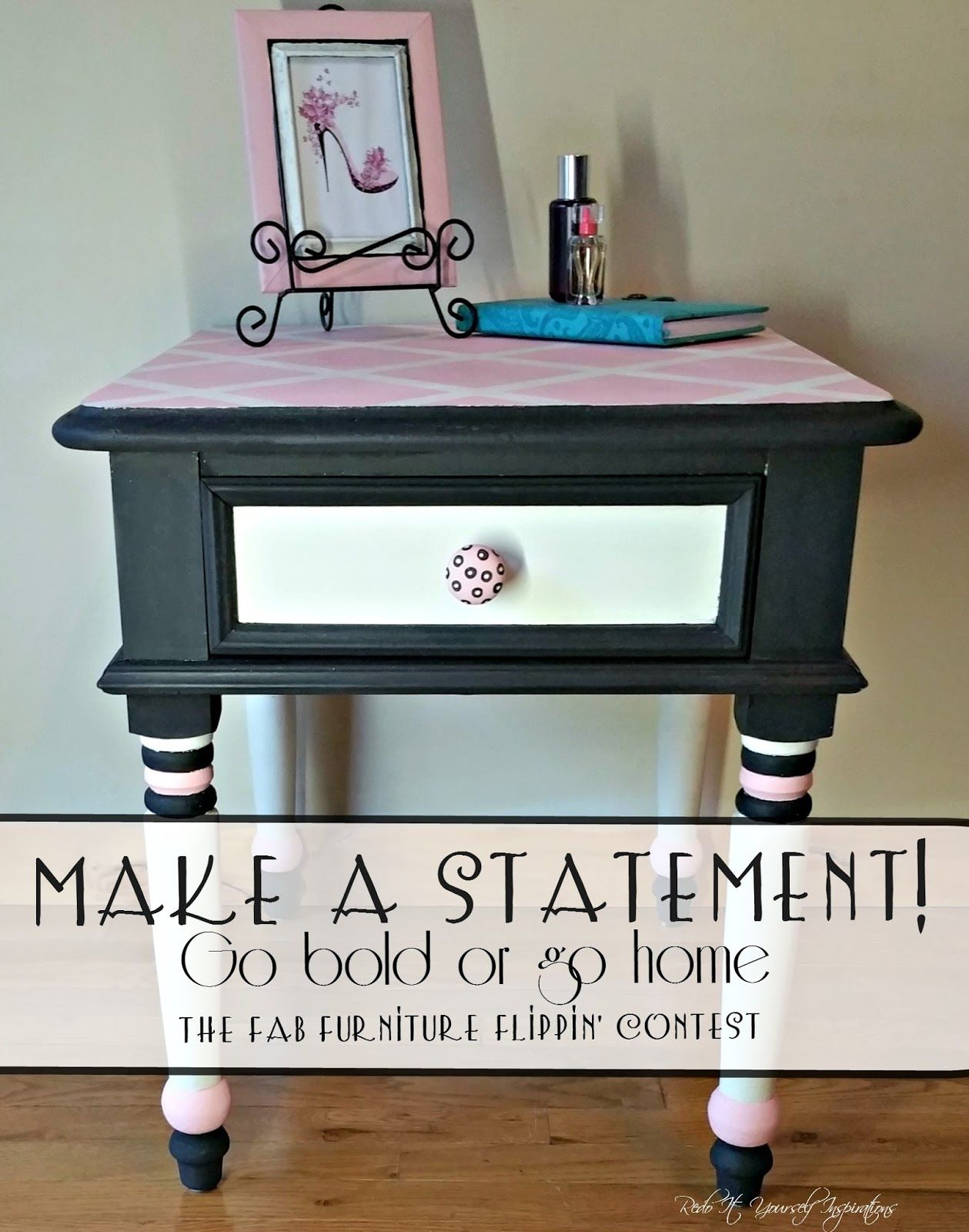 diy furniture refinishing projects. Redo It Yourself Inspirations : Girly Glam Nightstand · Furniture RefinishingFurniture Diy Refinishing Projects S