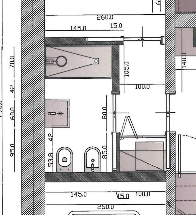 Bagni piccolissimi progetti progetto bagno piccolo scopri come per per progetti bagno - Progetto bagno 2 mq ...