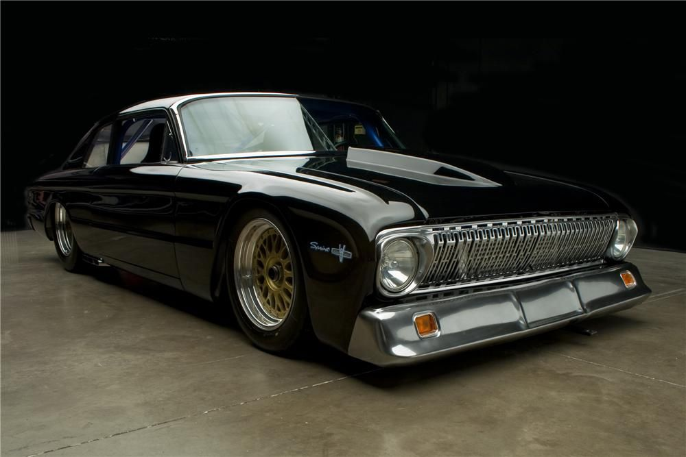 1962 Ford Falcon Custom - Features all hand made body panels including aluminum doors hood & 1962 Ford Falcon Custom - Features all hand made body panels ... markmcfarlin.com