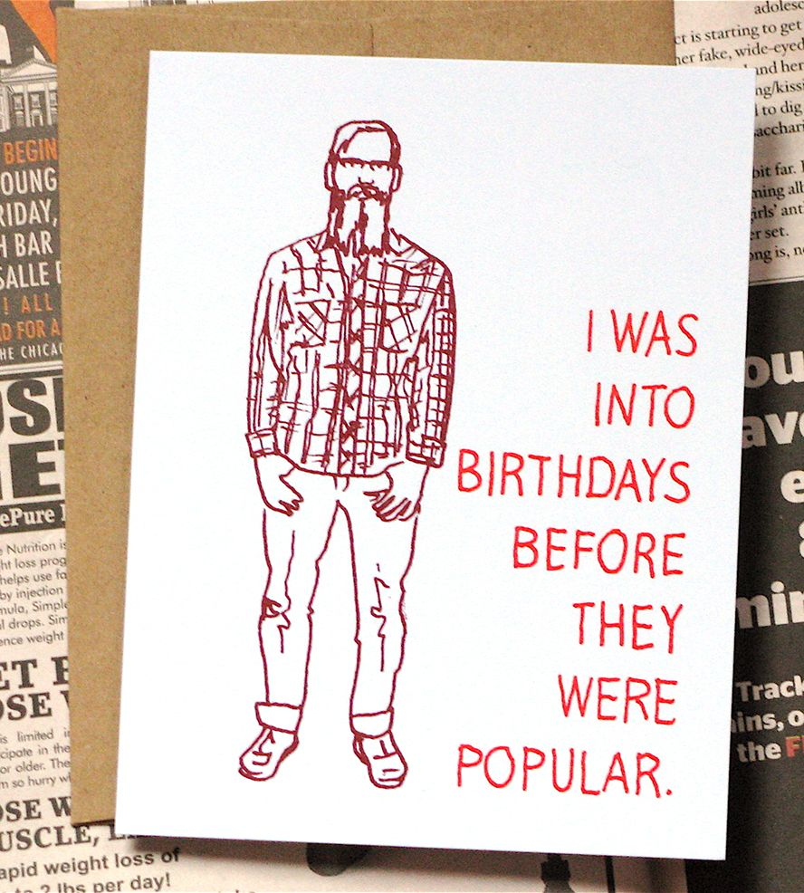 Hipster birthday cards I liked these before they were cool D – Jesus Birthday Card