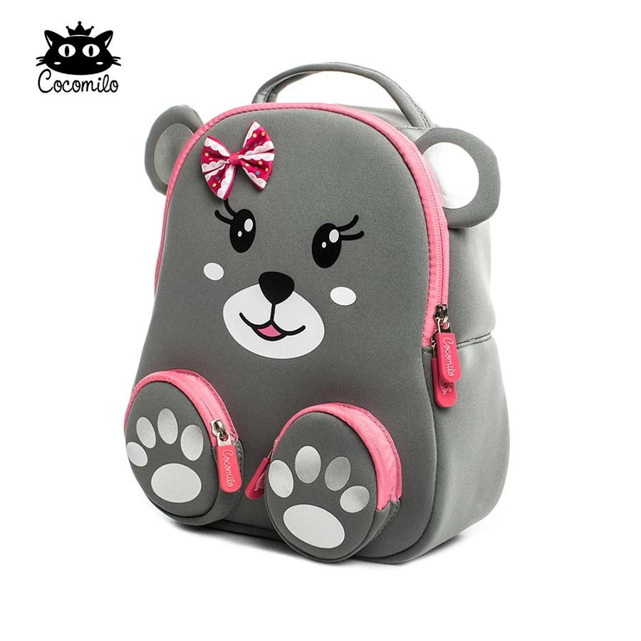 Cocomilo Kids Cute Elephant kindergarten Waterproof Schoolbag Cartoon Backpacks