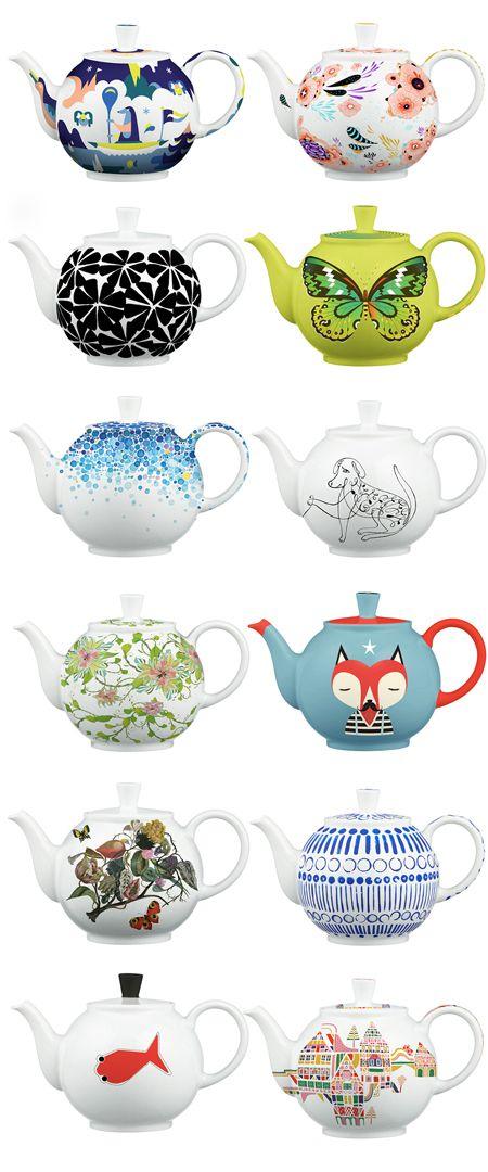 Wat schöne Teekännchen!