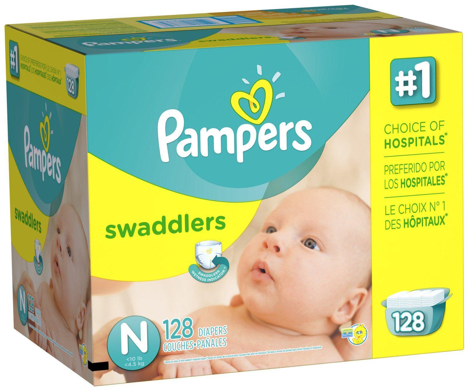 Paquete De Pañales Desechables Para Bebé Talla 4 Suaves Absorbentes Pampers