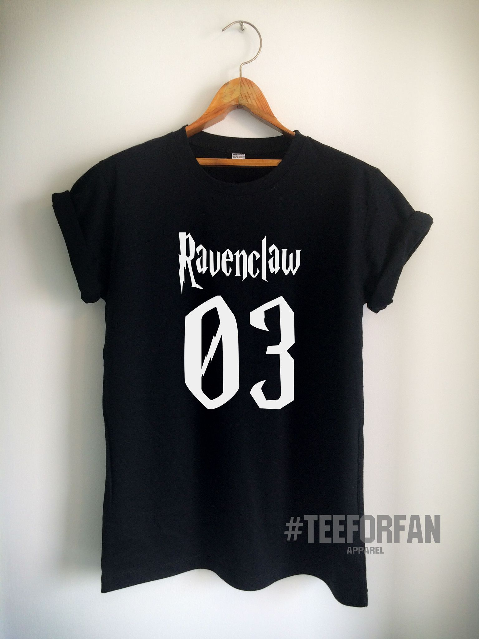 162ce2e3cf1 Harry Potter Shirt Ravenclaw 03 Quidditch T-Shirt Print on Front or Back  Side Unisex Women Men T-Shirt White Black Grey Red