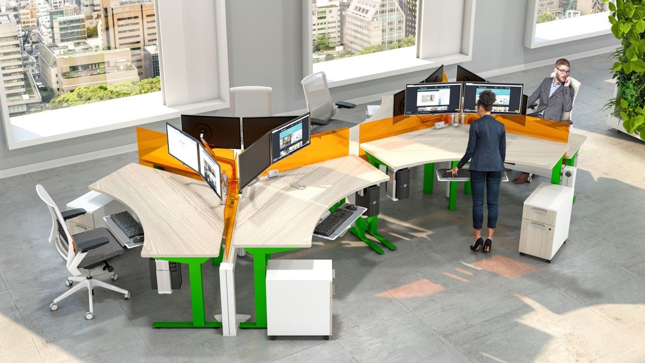 40 Modern Workstations Ideas In 2021 Modular Office Furniture Modern Office Cubicle System Furniture
