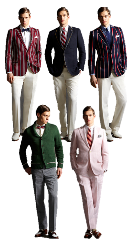 great gatsby fashion | Timeless Look Great gatsby Collection Brooks Brothers suits men