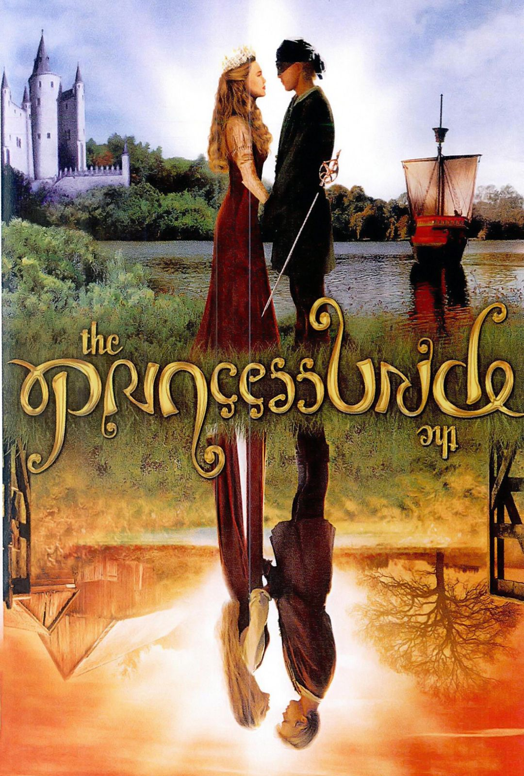 Notice That It Says The Princess Bride Upsidedown Too