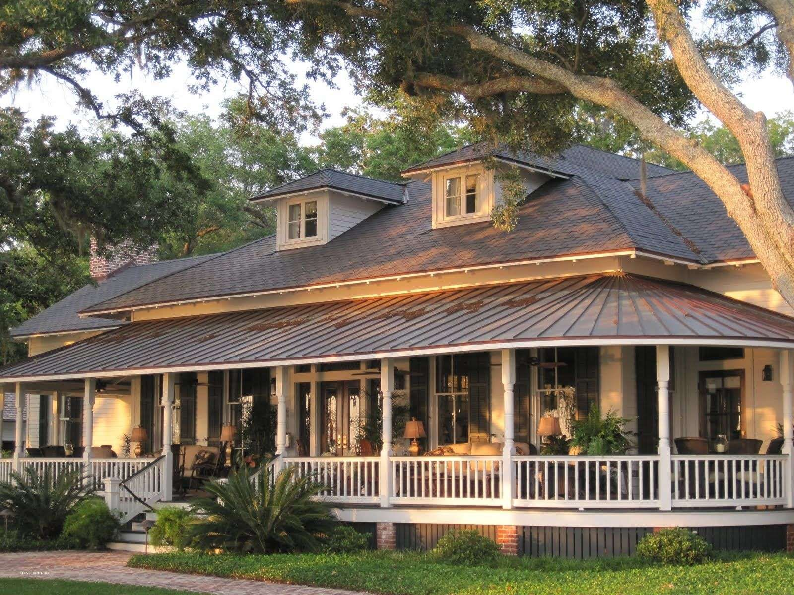 Kit Home Plans Don T Have To Be Rustic In Style In Reality After You Start To Look You Will Discover Porch House Plans House Plans Farmhouse Farmhouse House