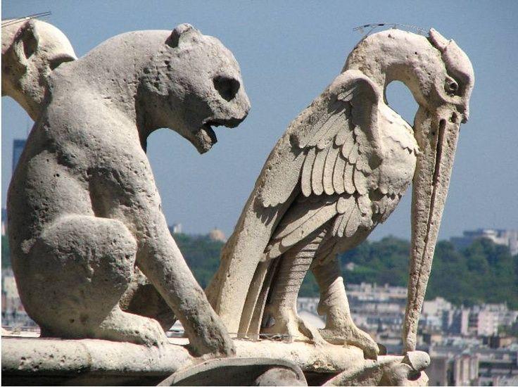 Notre Dame Cathedral Gargoyles