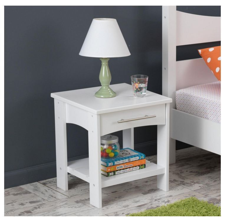 Best Kidkraft Twin Bed Side White End Table Bedroom Addison 640 x 480