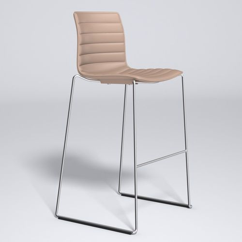 Strange Catifa 46 Leather Bar Stool Arper 3D Model Max Obj Fbx 15 Caraccident5 Cool Chair Designs And Ideas Caraccident5Info