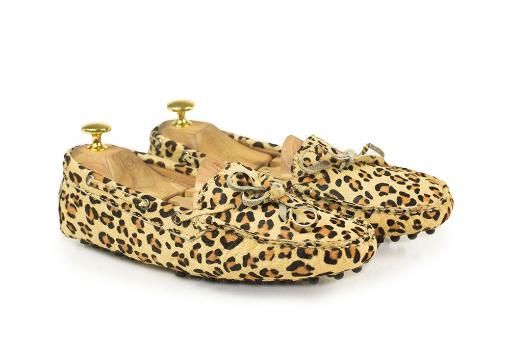 Women Driving shoes in Leopard - Driving shoe co - Car shoes online  92 USD.