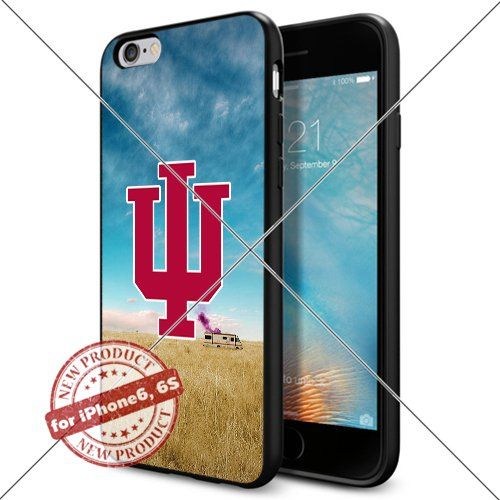 WADE CASE Indiana Hoosiers Logo NCAA Cool Apple iPhone6 6S Case #1196 Black Smartphone Case Cover Collector TPU Rubber [Breaking Bad] WADE CASE http://www.amazon.com/dp/B017J7O69C/ref=cm_sw_r_pi_dp_0awxwb0TJ095T