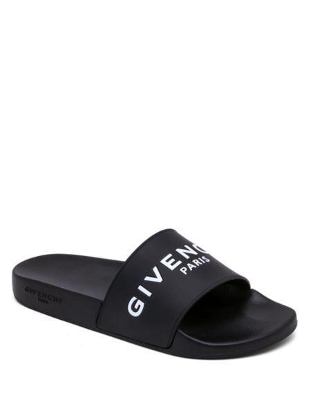 7d4f2c05f501 Givenchy - Logo Rubber Slides