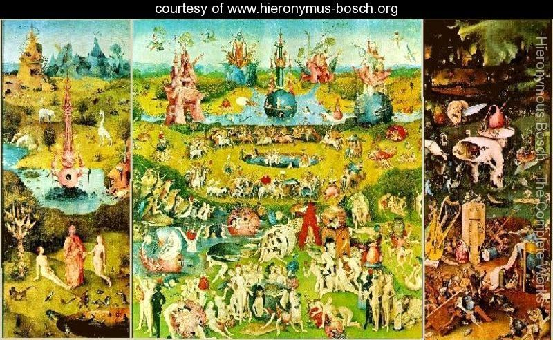The garden of earthly delights hieronymous bosch www - Hieronymus bosch garden of earthly delights ...