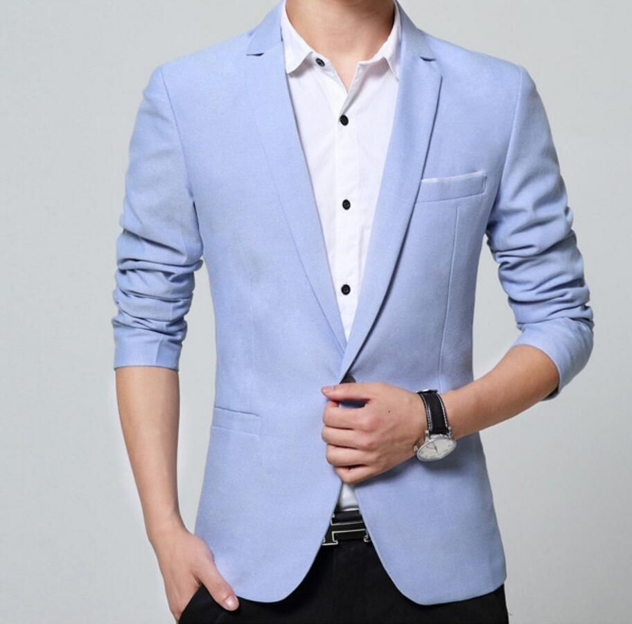 >> Click to Buy << Men's suit jacket in the spring and autumn season young British leisure suit jacket fashion custom new men party suit jacket #Affiliate
