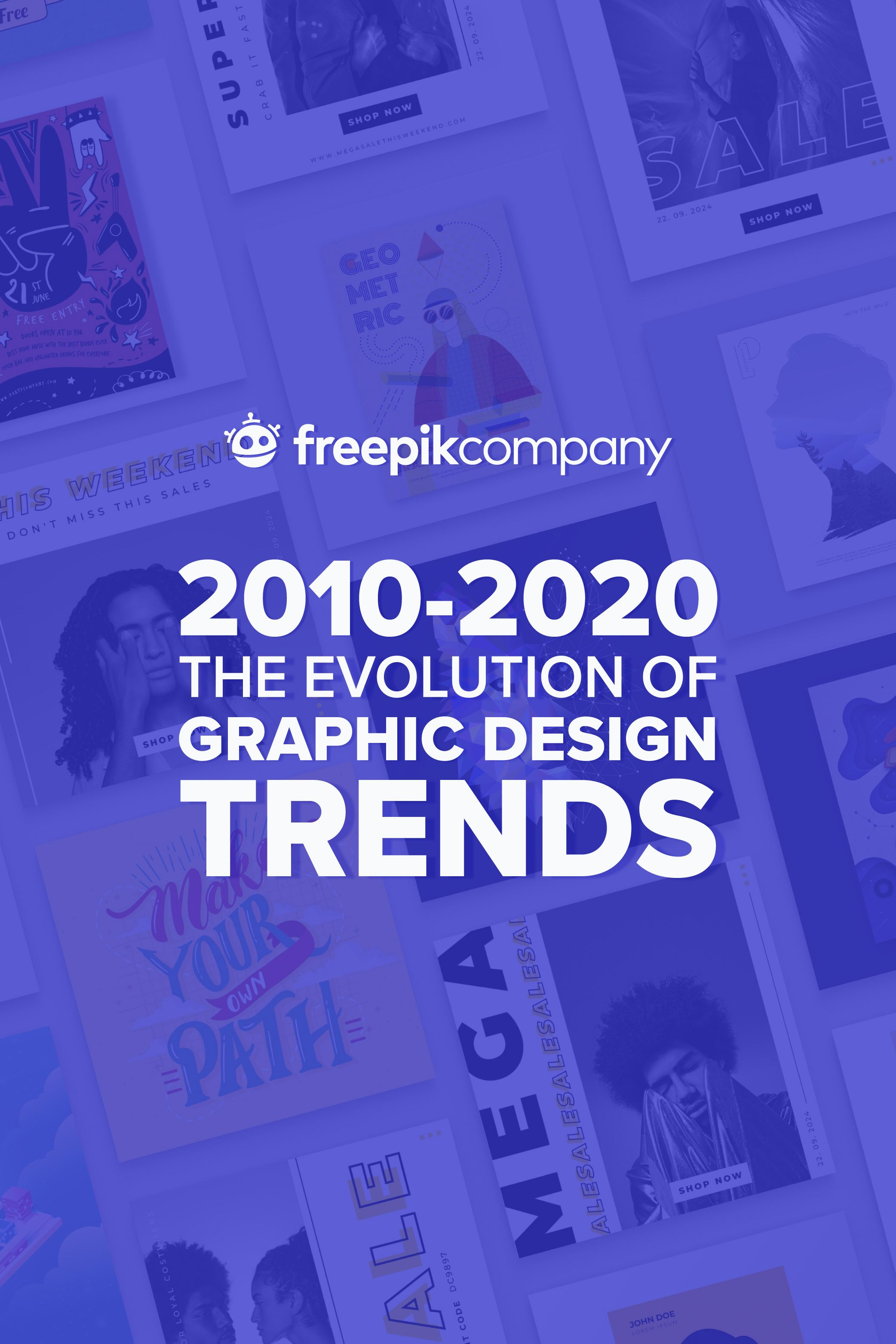 The Evolution Of Design Trends In The Last Decade Design Trends Print Design Template Design