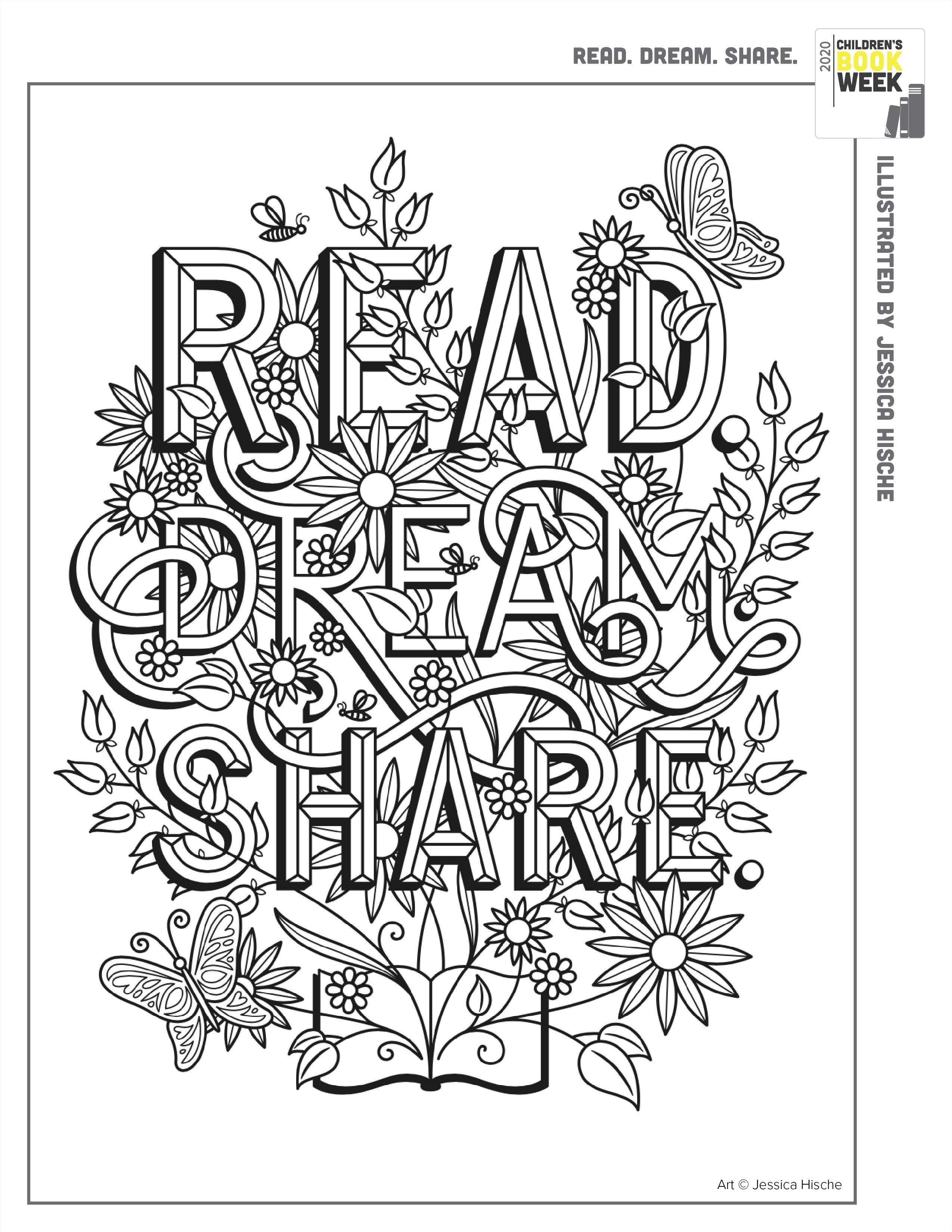 Tomorrow I Ll Be Brave Childrens Colouring Book Coloring Books Jessica Hische