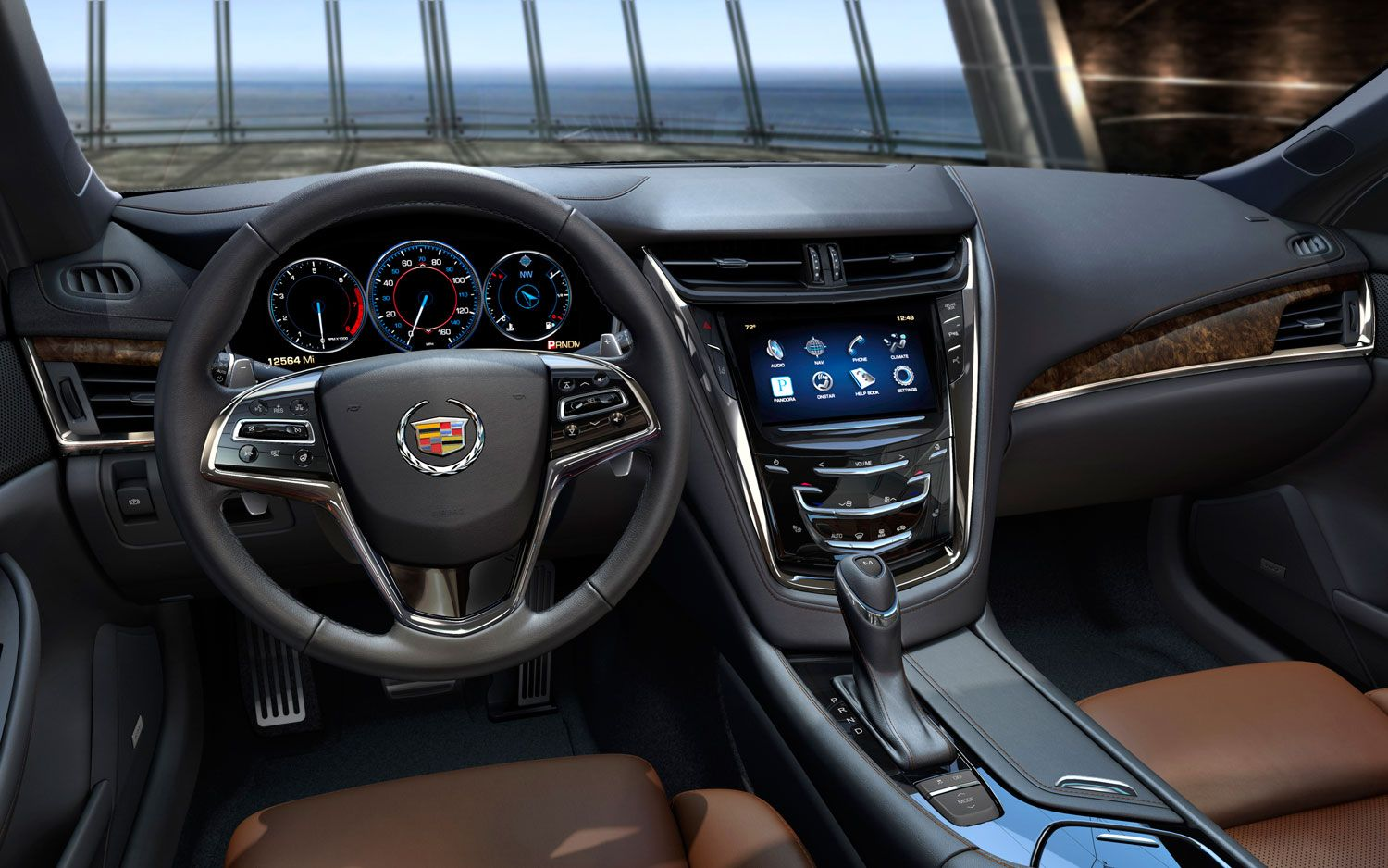2014 Cadillac Cts Dash I Can T Wait To See The Cts Coupe And Cts V