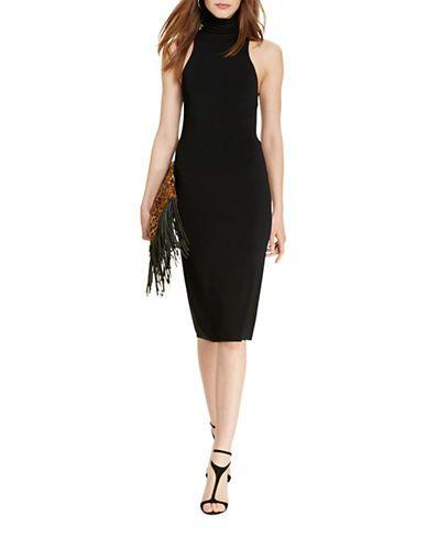 1a44f104d8 Polo Ralph Lauren Sleeveless Turtleneck Sweater Dress Women s Black La Polo  Neck