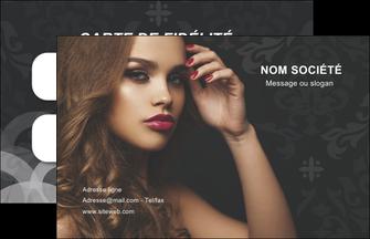 MLGI25951 maquette de carte de visite salon de coiffure