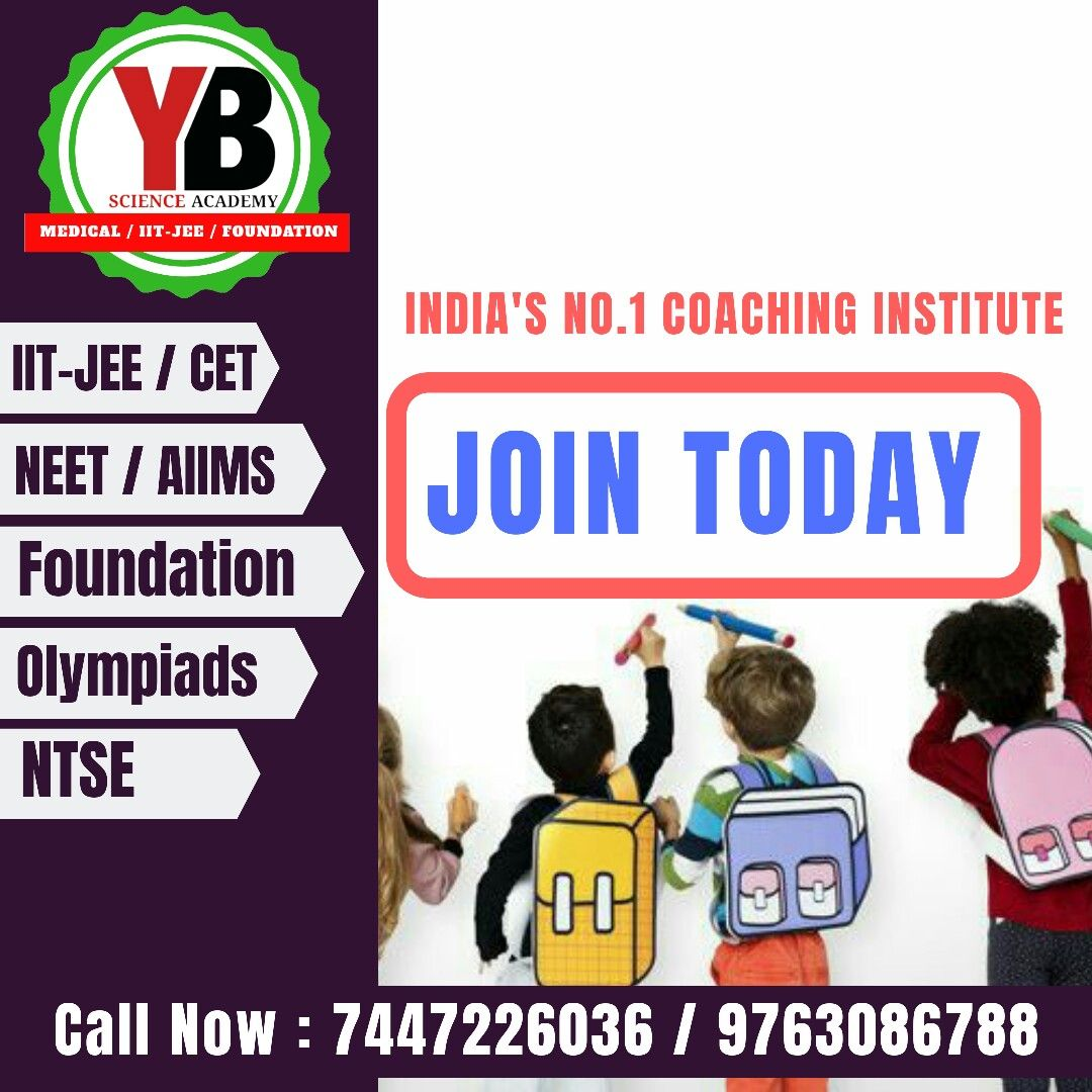 India S No 1 Coaching Institute Yb Institute Yb Science Academy
