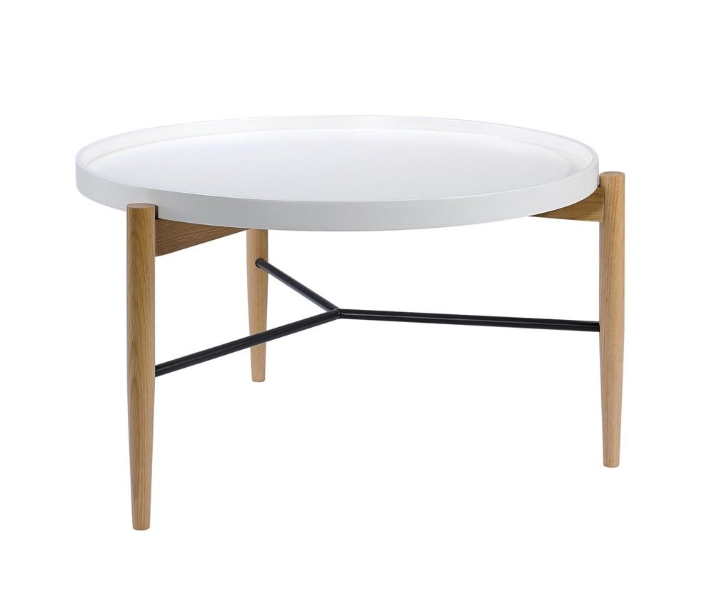 Nordic Round Coffee Table Scandinavian Furniture 3 Coffee