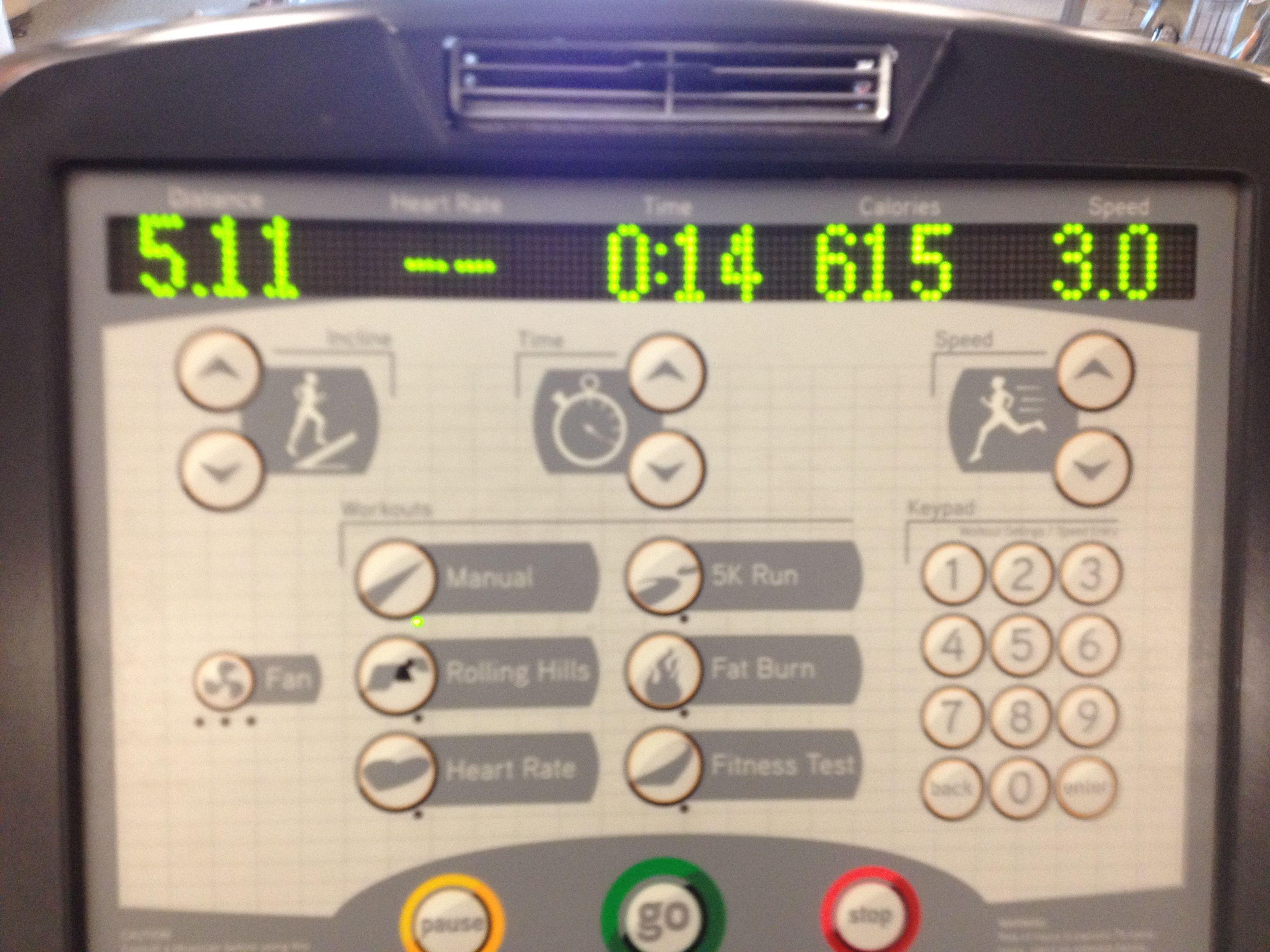5 miles!!!  2/9/14