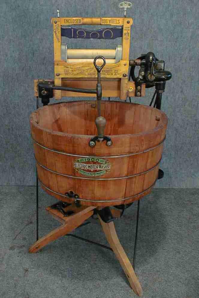 First Electric Washing Machine 1907 Electric Washing Machine Washing Machine Home Decor