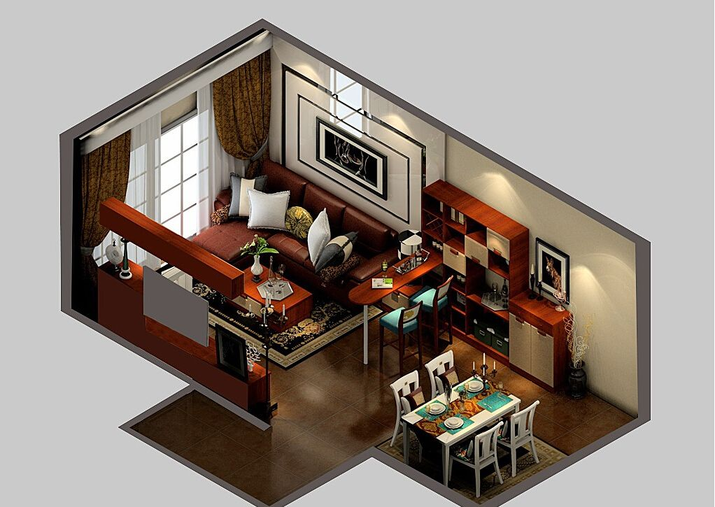 Image Result For Bar In Living Room Dining Room