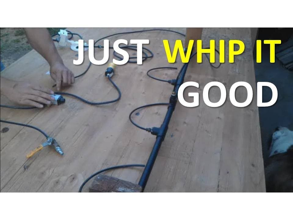 How To Make The Ankle Tickler Air Blaster Air Whipping Prop - how to make halloween decorations youtube
